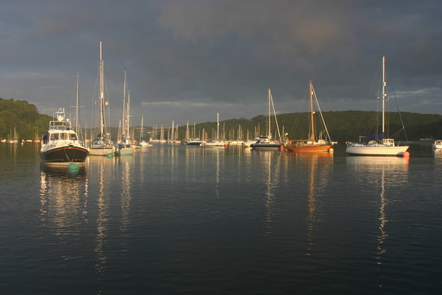 Dawn on the Helford River