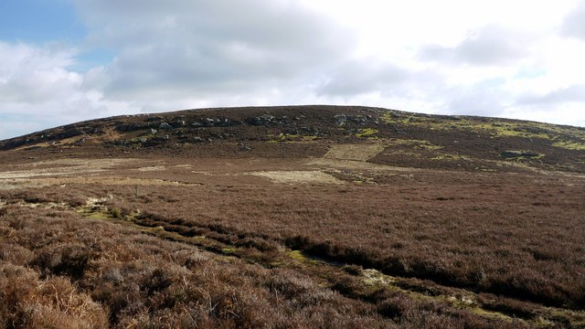 Garleigh Hill from the west