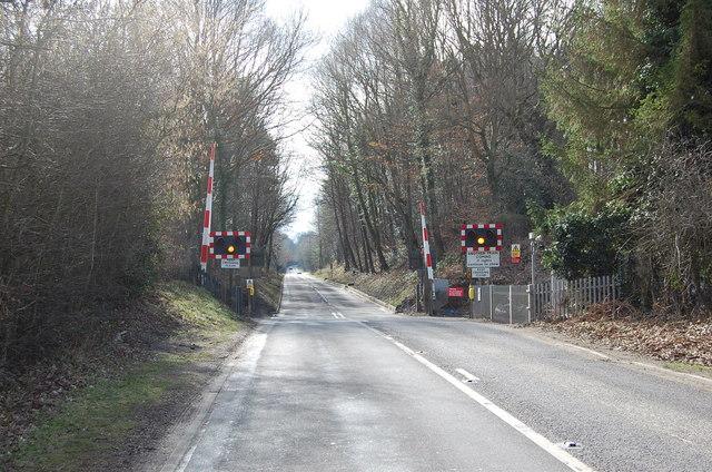 Level Crossing, London Road