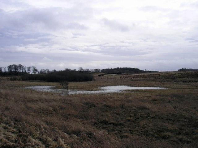 The Quarry Pond on Gala Rig