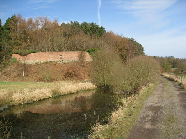Wyver Lane - Passing a pond