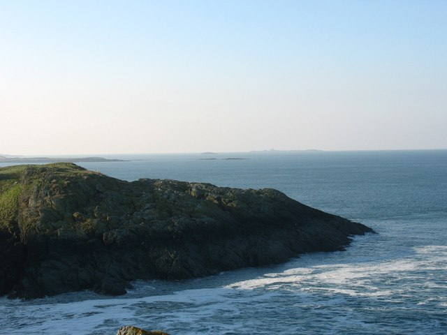View westwards across the mouth of Porth Wnal cove