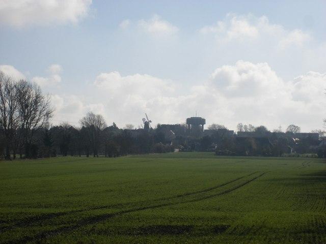Swaffham Prior skyline