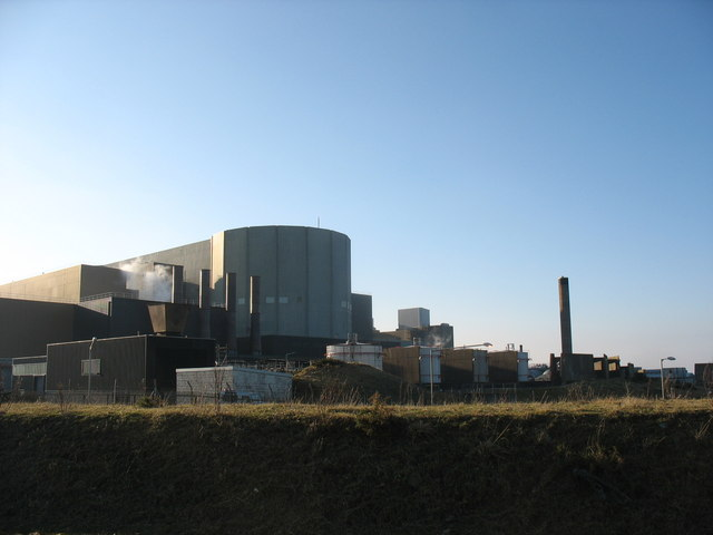 The reactor building at Wylfa