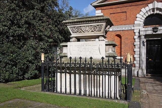 St Botolph without Bishopsgate - Churchyard