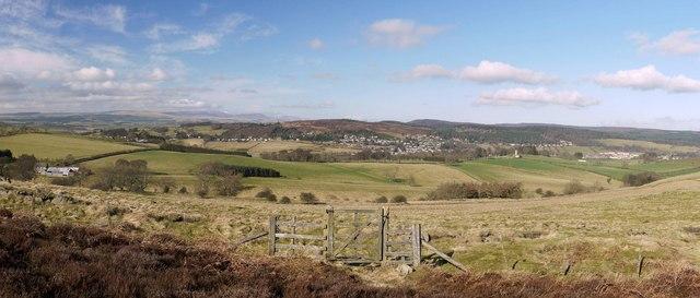 Gate on Garleigh Moor