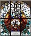 TQ3381 : St Botolph without Bishopsgate - Window : Week 9