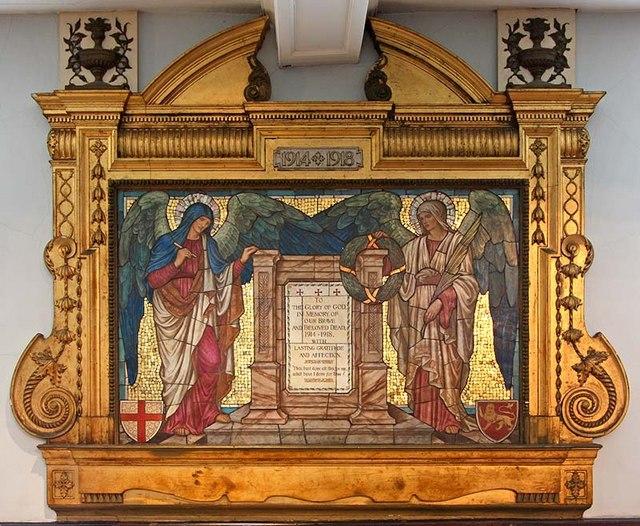 St Botolph without Bishopsgate - Memorial WWI
