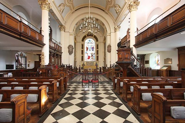 St Botolph without Bishopsgate - East end