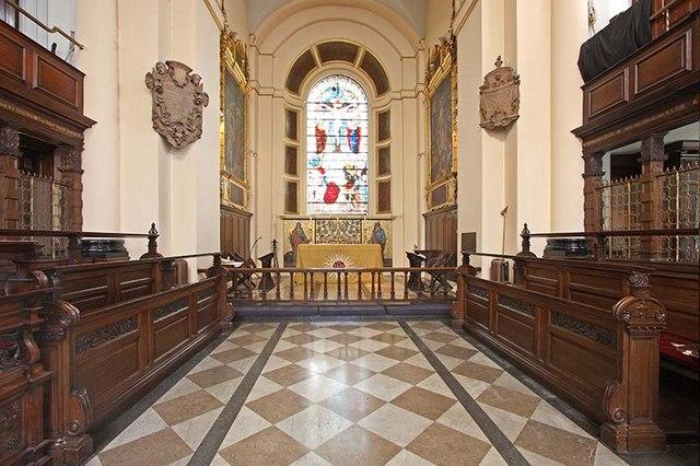St Botolph without Bishopsgate - Chancel