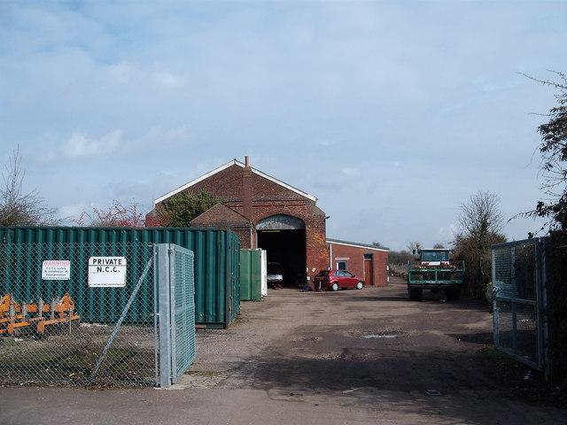 Attleborough station goods shed
