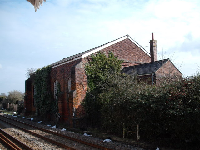 Attleborough station goods shed