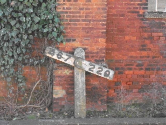 Gradient profile at Attleborough station
