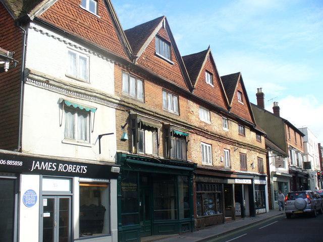 Gabled West Street, Dorking