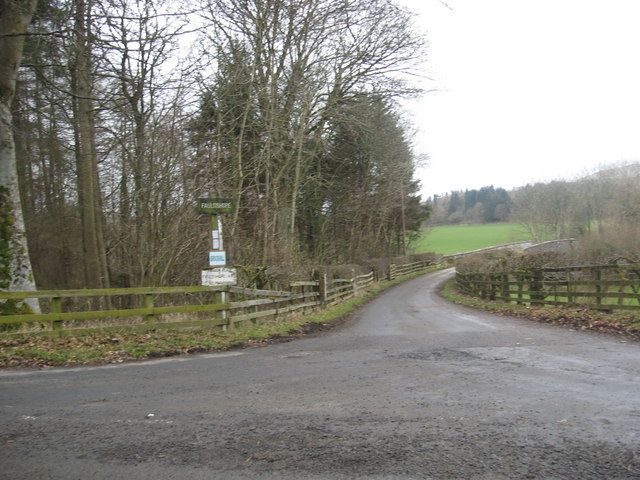 Road leading to Fauldshope