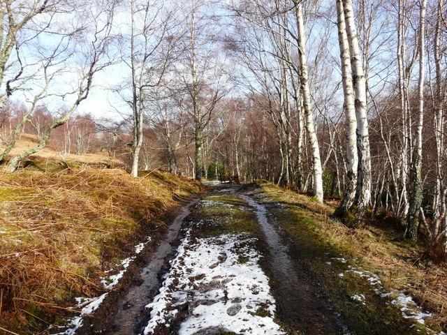 Track to Achinael