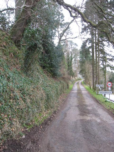 Road to Helmburn Farm