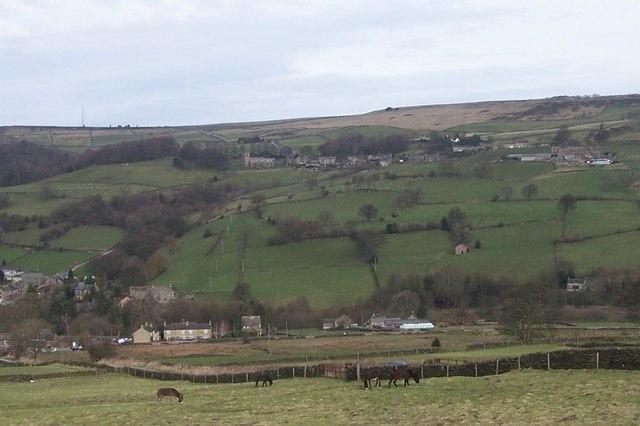 Four Donkeys, Mill Lee Road, Low Bradfield