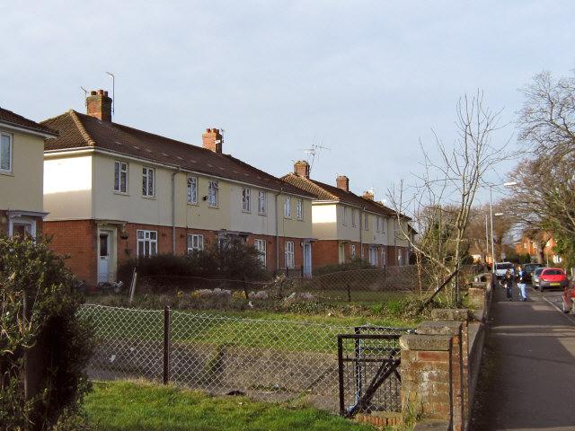 Houses on Rhode Lane