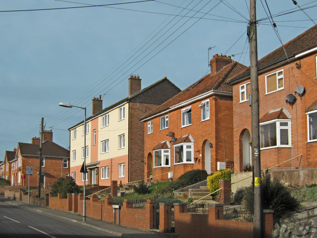Houses on Rhode Lane