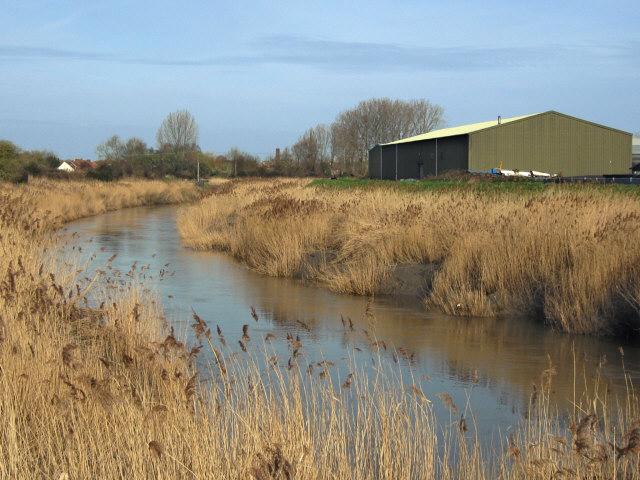 River Parrett in south Bridgwater