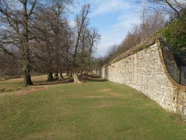 Garden Wall surrounding Knole House and Garden