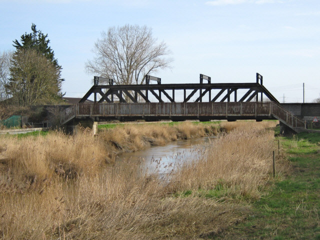 Railway bridge over the River Parrett