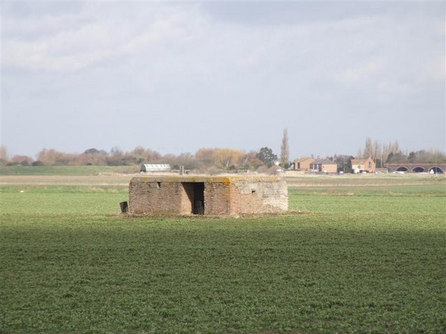 Pillbox near Hobbs Lot