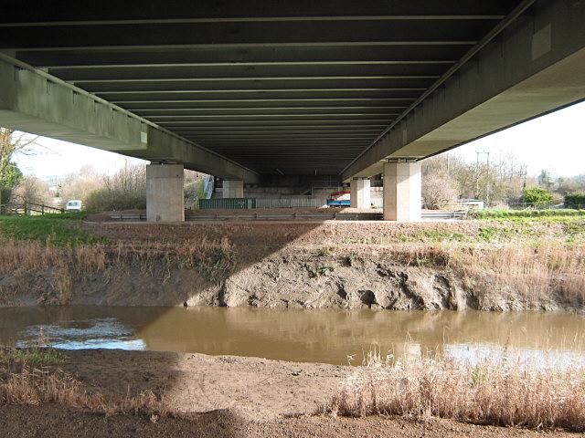 Under the motorway, Bridgwater