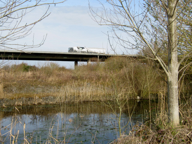 M5 viaduct, Bridgwater