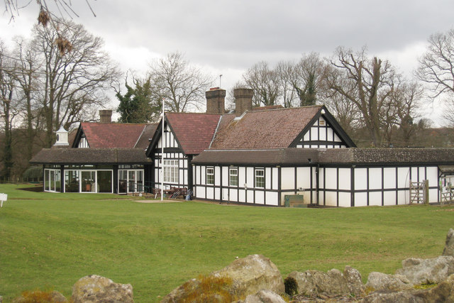 Club House at Knole Park Golf Course