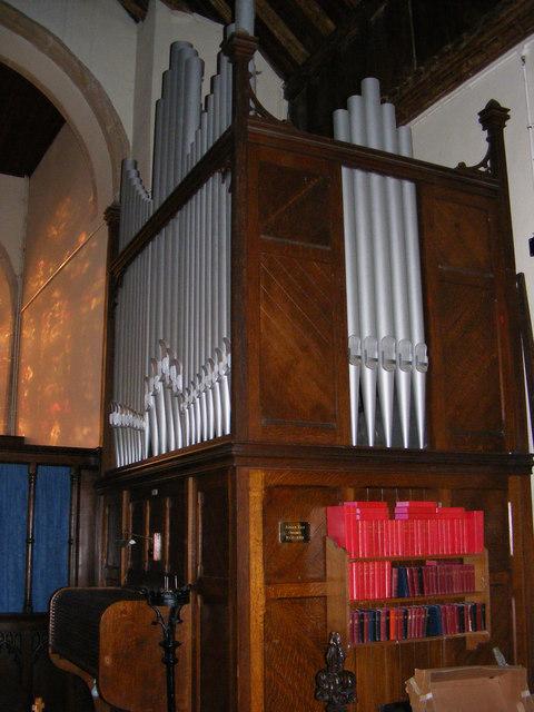 St.Mary's Church Organ, Great Bealings