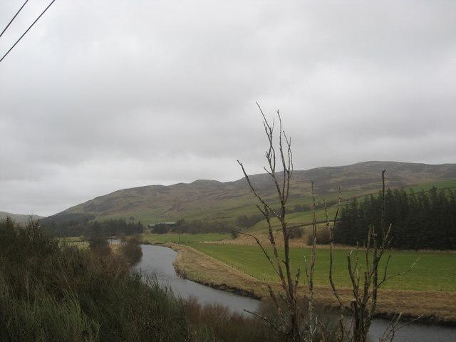 Beautiful scene in the Ettrick Valley