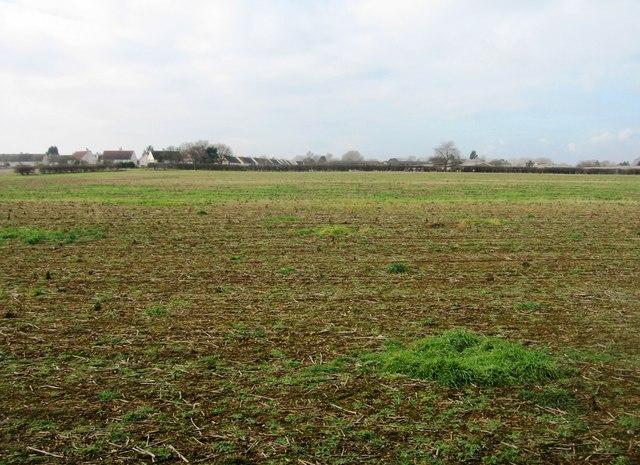View across Clay Farm fields