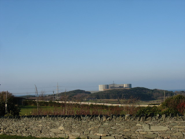 Wylfa NP Station from the A5025