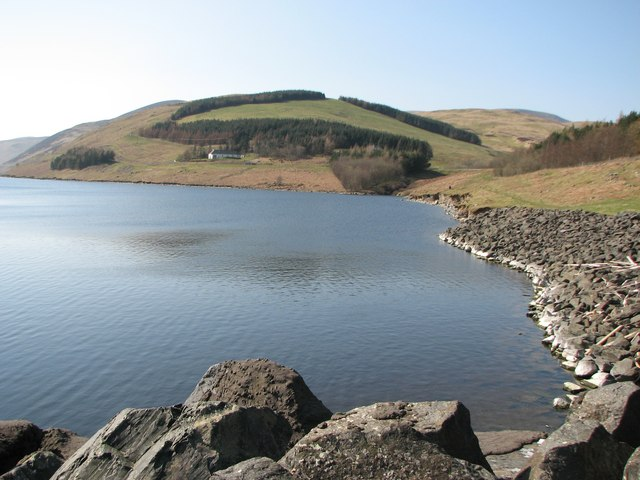 Hunter Hill above Meggat Reservoir