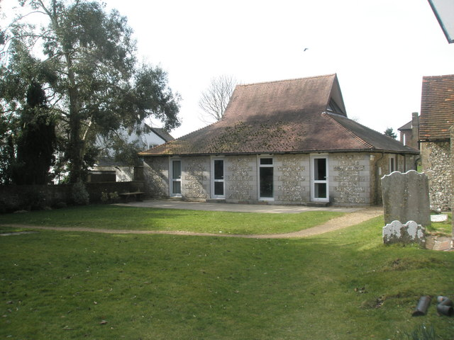 Church hall adjacent to St James Church, Clanfield