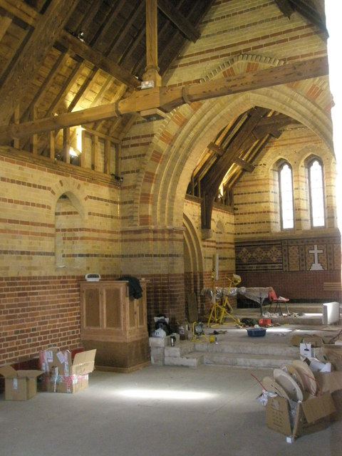 Restoration work underway at St James Church, Clanfield
