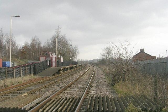 Platform 2 - Featherstone Station