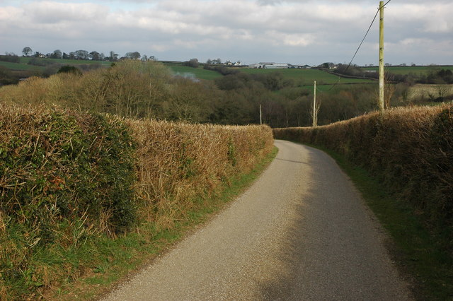 Country road near Filleigh