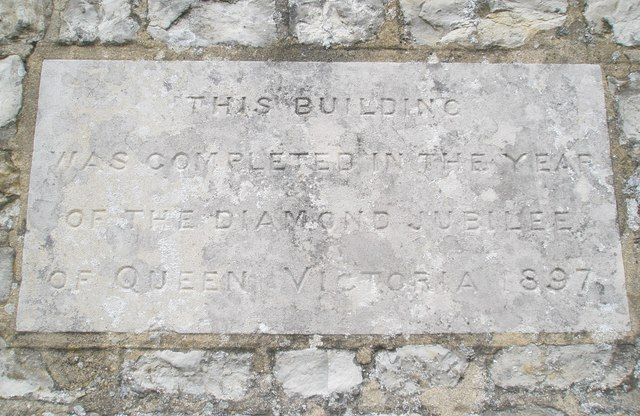 Date stone on Stroud Church