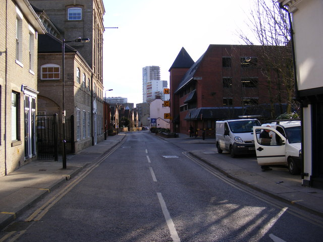 Foundation Street, Ipswich