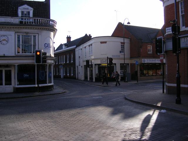 Lower Brook Street, Ipswich