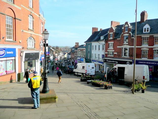 Ross-on-Wye Market Place