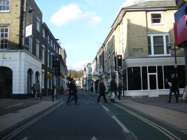 Upper Brook Street, Ipswich