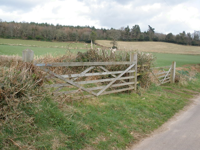 View towards Baker's Brake