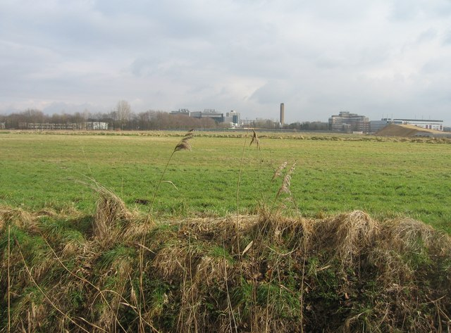 Looking towards Addenbrooke's Hospital