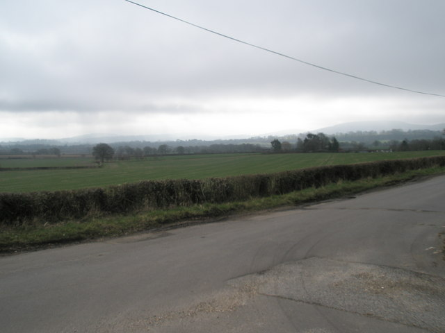 Farmland just off Ridge Common Lane