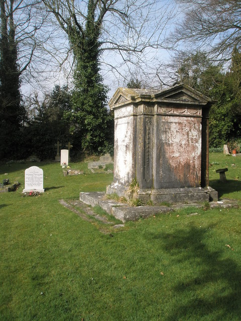 Impressive tomb in East Meon Churchyard
