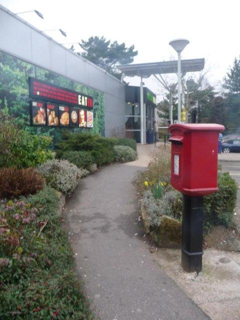 Fleet: postbox № GU51 334, M3 Services